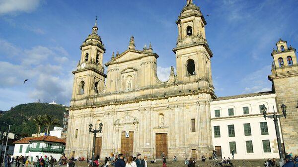 La plaza de Bolívar, Bogotá  - Sputnik Mundo