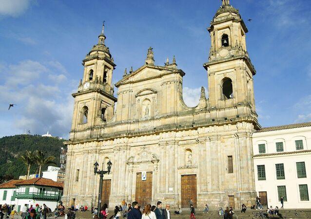La plaza de Bolívar, Bogotá
