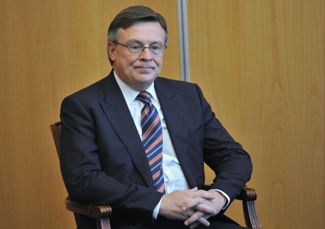 Leonid Kozhara, el exministro de Asuntos Exteriores de Ucrania