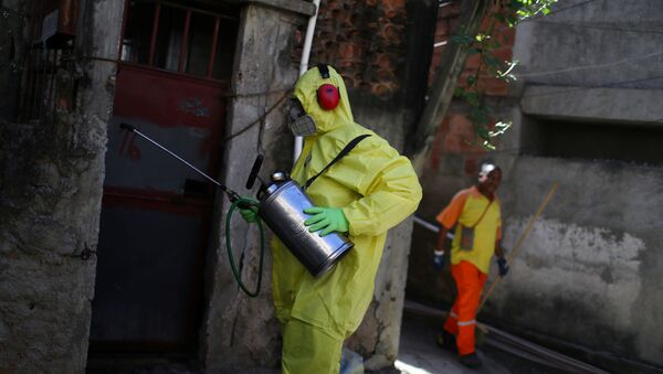 Lucha contra el coronavirus en Brasil - Sputnik Mundo
