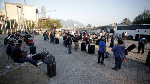 Refugiados en México  - Sputnik Mundo