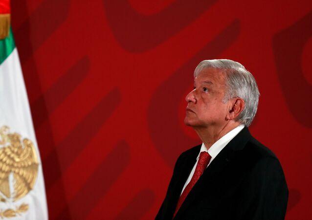 Andrés Manuel López Obrador, el presidente mexicano