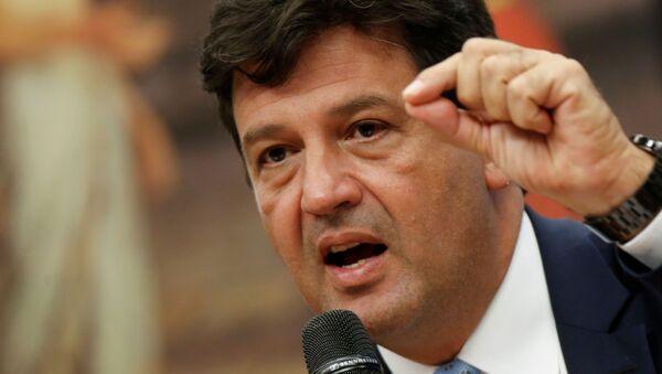 Luiz Henrique Mandetta, ministro de Salud de Brasil - Sputnik Mundo