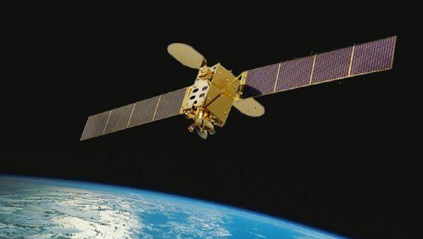 Satélite venezolano VeneSat-1 Simón Bolívar (ilustración gráfica) - Sputnik Mundo