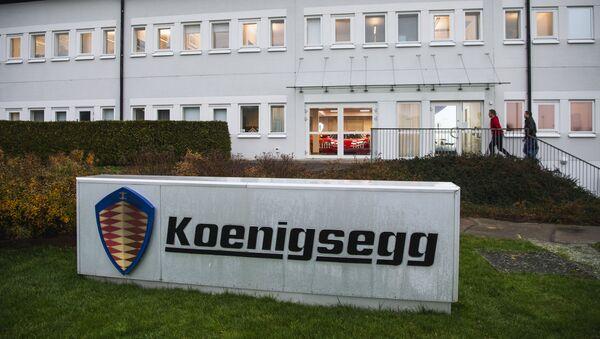Koenigsegg, empresa sueca - Sputnik Mundo