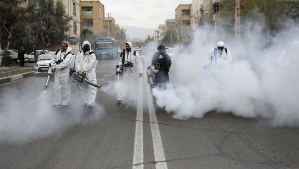 Lucha contra el coronavirus en Irán - Sputnik Mundo