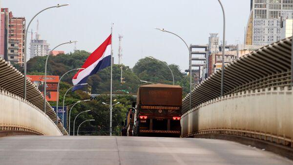 Carreteras cerradas en Paraguay por el coronavirus - Sputnik Mundo