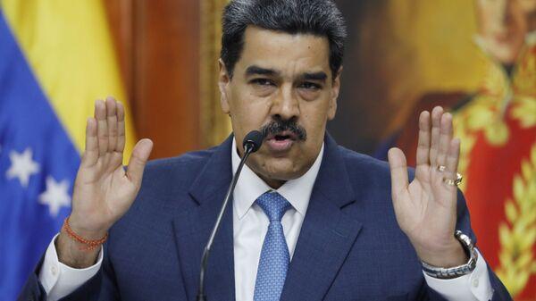 Nicolás Maduro, el presidente de Venezuela - Sputnik Mundo