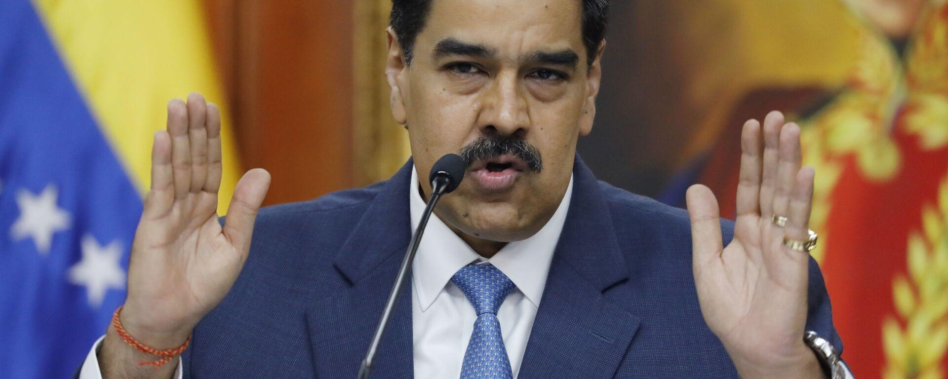 Nicolás Maduro, el presidente de Venezuela - Sputnik Mundo, 1920, 31.05.2021