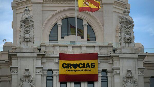 Madrid y coronavirus - Sputnik Mundo