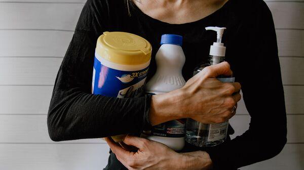 Productos de limpieza, imagen referencial - Sputnik Mundo