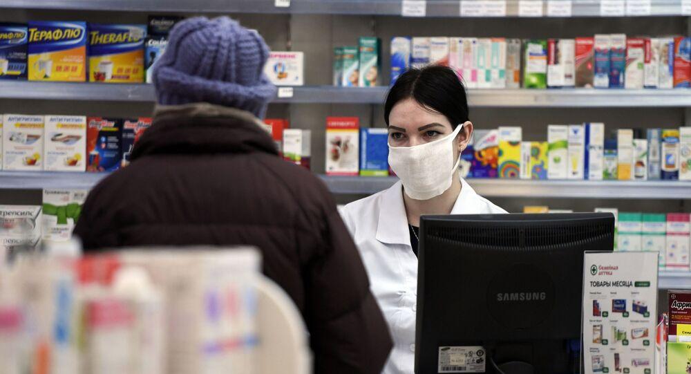 Una farmacia rusa