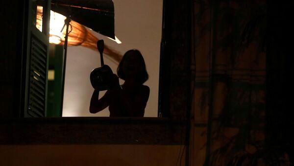 Caceroleadas en Brasil - Sputnik Mundo