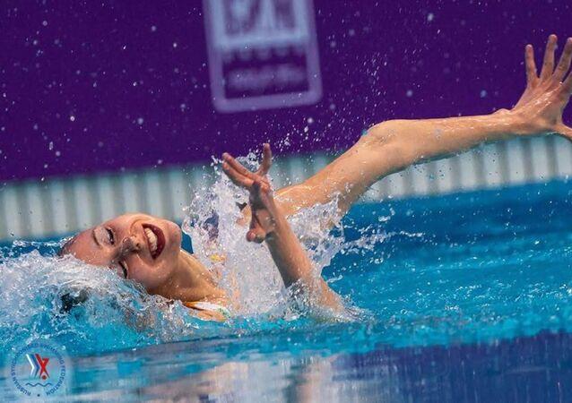 Alisa Ozhogina en competición