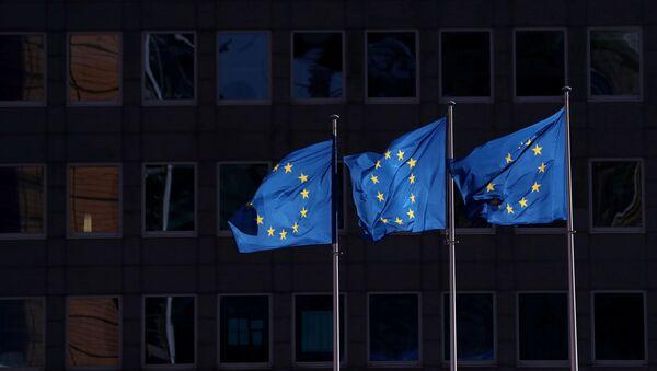 Banderas de la Unión Europea (UE) - Sputnik Mundo