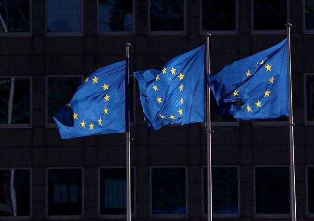 Banderas de la Unión Europea (UE)