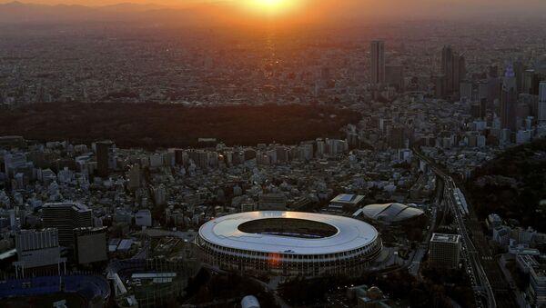 El Estadio Nacional de Tokio, el estadio principal de los JJOO en Japón - Sputnik Mundo