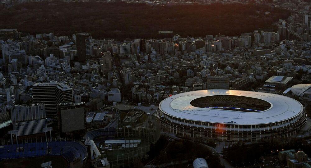El Estadio Nacional de Tokio, el estadio principal de los JJOO en Tokio