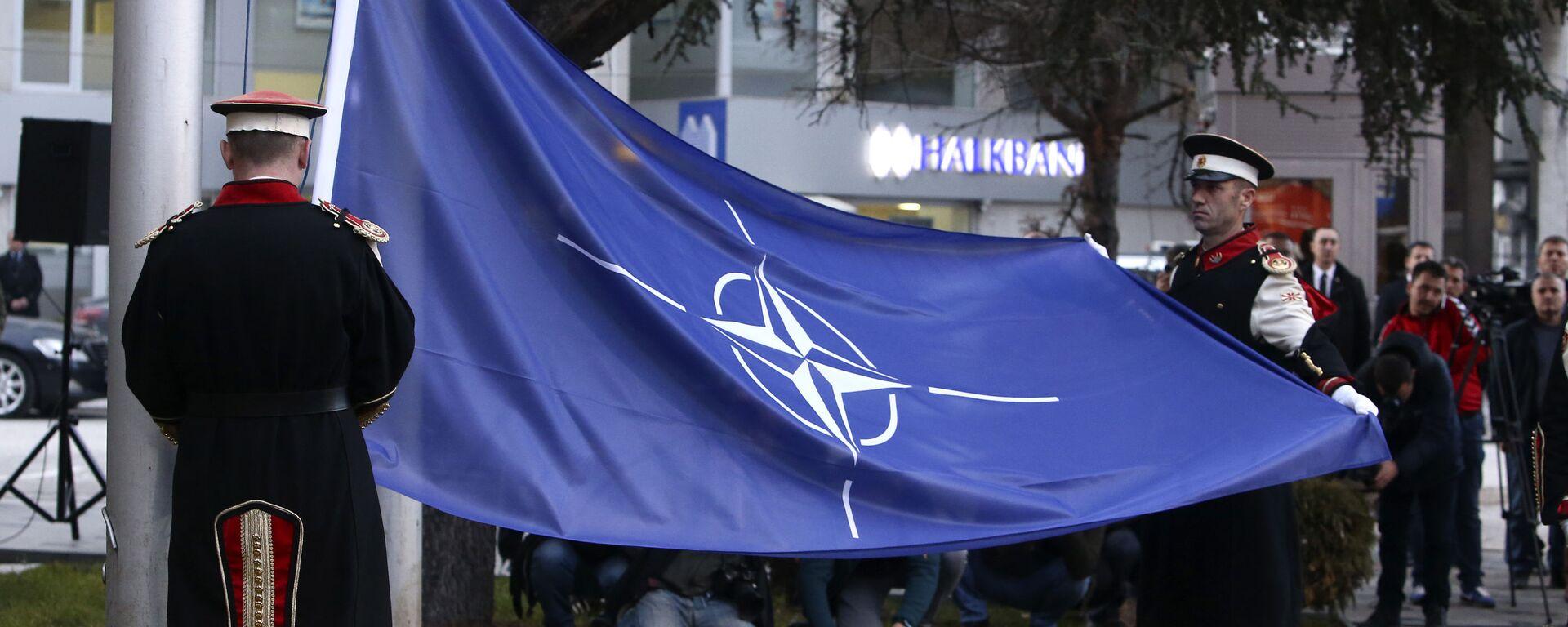 Bandera de la OTAN - Sputnik Mundo, 1920, 25.03.2021