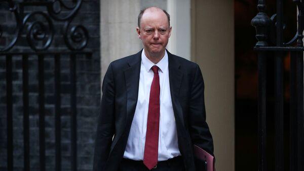 Chris Whitty, médico jefe de Inglaterra - Sputnik Mundo