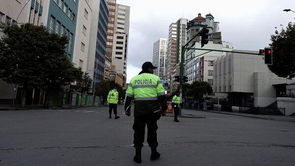 La policía de Bolivia - Sputnik Mundo