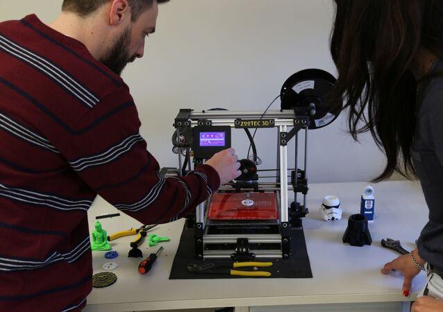 Impresoras 3D serán usadas para fabricar partes de máscaras de protección