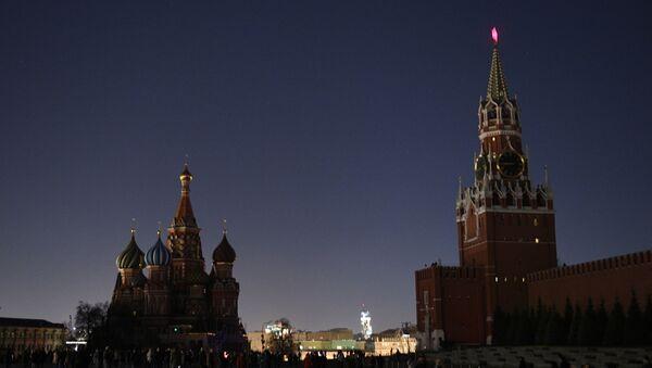 La Plaza Roja durante la Hora del Planeta - Sputnik Mundo