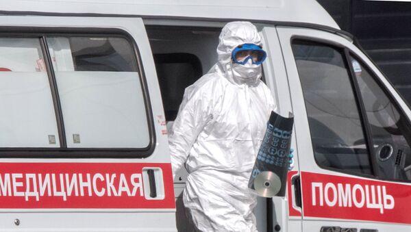 Un médico ruso - Sputnik Mundo