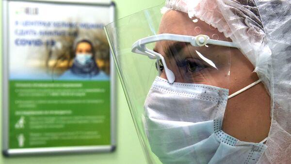Personal médico en Rusia (imagen referencial) - Sputnik Mundo