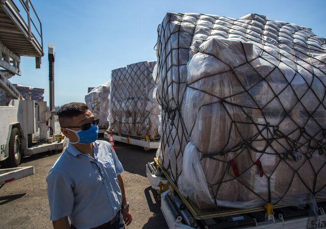 Ayuda técnica humanitaria de China a Venezuela