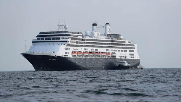 El crucero Zaandam  - Sputnik Mundo