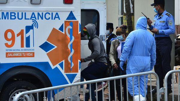 Ambulancia en Tegucigalpa, Honduras - Sputnik Mundo
