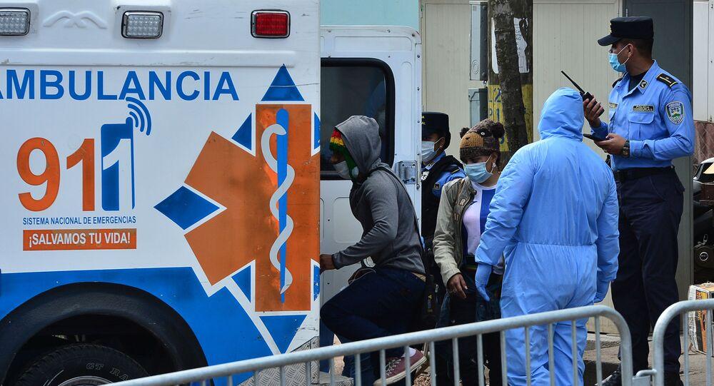 Ambulancia en Tegucigalpa, Honduras