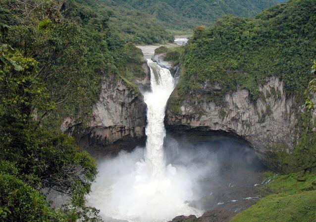 Cascada de San Rafael, Ecuador