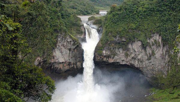 Cascada de San Rafael, Ecuador - Sputnik Mundo