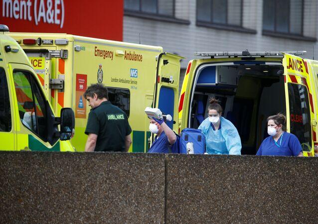 Ambulancias (imagen referencial)