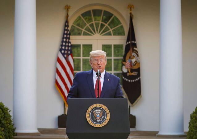 Donald Trump, presidente de EEUU