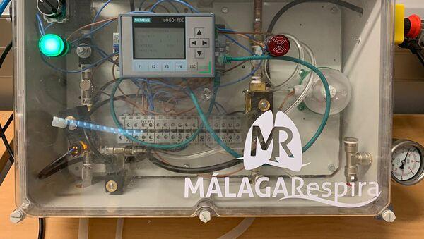 Un respirador creado en Málaga - Sputnik Mundo