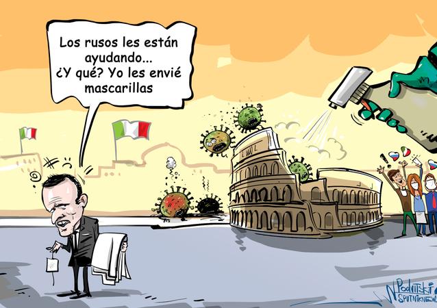Macron ofendido: Francia también ayudó a Italia