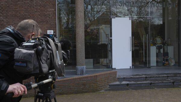 La puerta rota del museo holandés Singer Laren - Sputnik Mundo