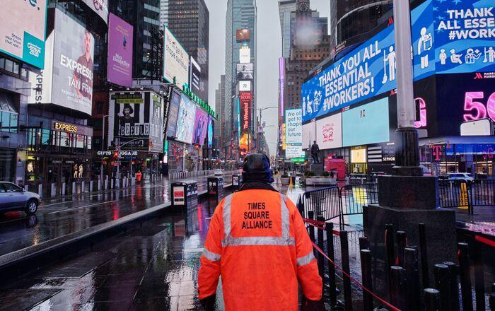 Nueva York, EEUU, durante la pandemia del nuevo coronavirus