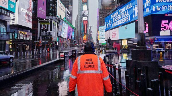 Nueva York, EEUU, durante la pandemia del nuevo coronavirus - Sputnik Mundo
