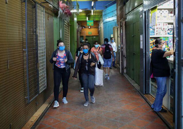 Un mercado público de Venezuela