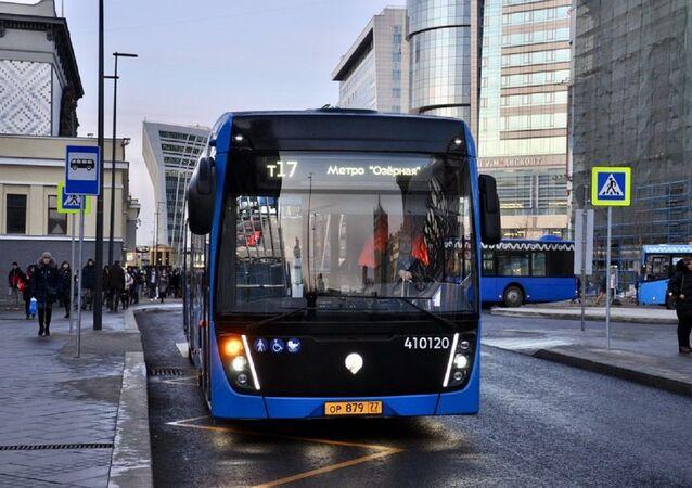 Un autobús en Moscú