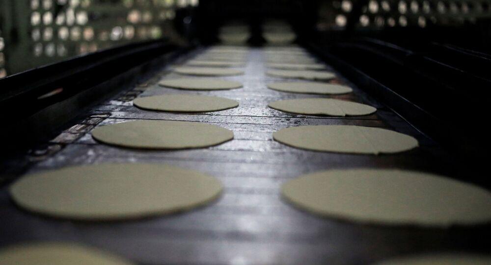 Producción de tortillas (imagen referencial)