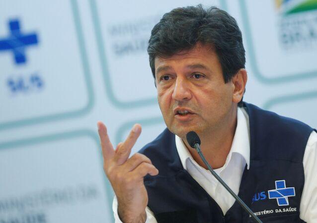 Luiz Henrique Mandetta, ministro de Salud de Brasil