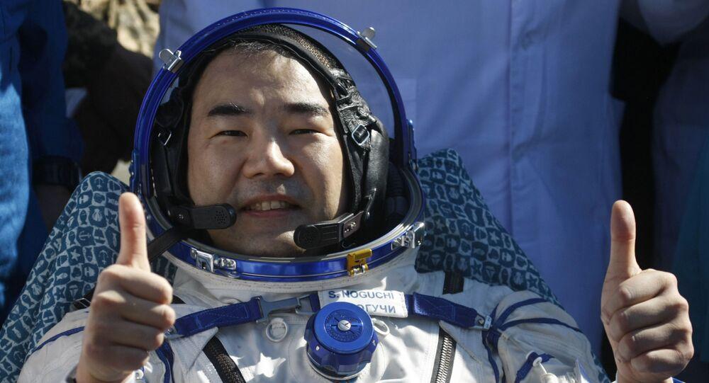 Soichi Noguchi, el astronauta nipón