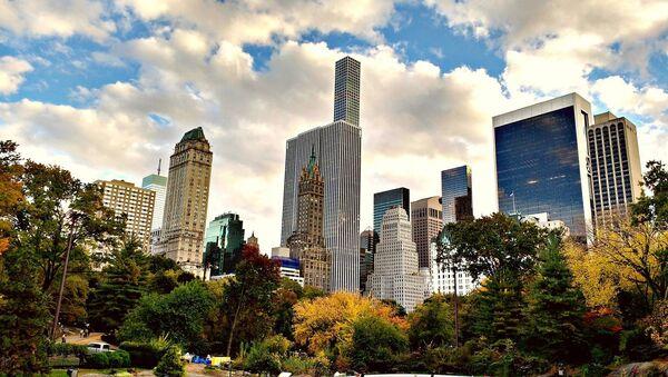 Vista del Central Park, en Manhattan, Nueva York - Sputnik Mundo