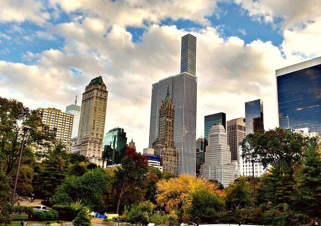 Vista del Central Park, en Manhattan, Nueva York