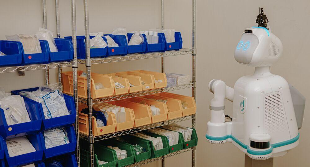Moxi, el robot enfermero